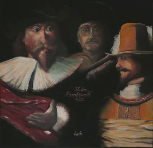 Ik ben Rembrandt niet